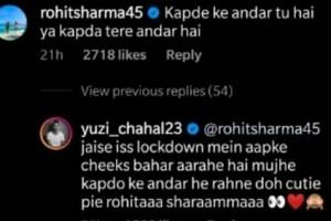 Rohit Sharma Brutally Trolls Yuzvendra Chahal On His Latest Instagram Photo; Latter's Response Goes Viral!