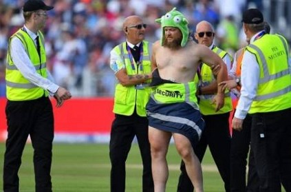 Streaker Runs Into Ground During England vs New Zealand Match: Watch V