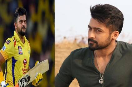 Suresh Raina sings Surya song, writes Tamil; CSK shares Video