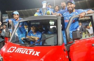 Twitter reacts to Dhoni driving team around in Bumrah's car