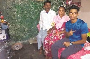 U-16 national, Rickshaw puller's son breaks record