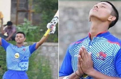 U19 Indian cricketer Yashasvi Jaiswal paani puri to record