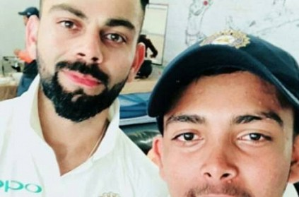 Virat Kohli\'s Autograph On Prithvi Shaw\'s Bat Breaks Internet