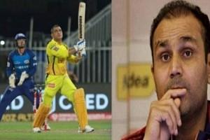 Virender Sehwag Comes Out in Support of MS Dhoni after CSKvsMI Clash; Reveals Why It Is 'Hurting Dhoni More'