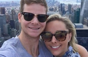 Steve Smith gets engaged to long-time girlfriend Dani Willis