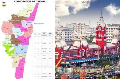 Area wise Break-up of COVID-19 Cases in Chennai as of May 16!