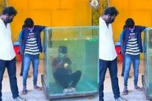 Watch! Chennai Man Sets New Guinness World Record Solves 6 Rubik's Cubes Underwater