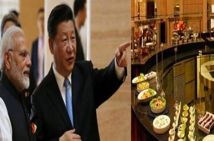 Image result for jinping narendra modi food they eat at chennai