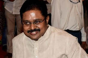 TTV Dhinakaran reacts to TN minister's US, London claims