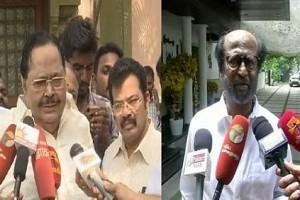 """Video: """"Thodangattum Pathukalam,"""" Duraimurugan's Swag Response To Rajinikanth"""