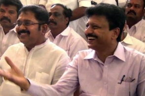 Festive mood surrounds Dhinakaran supporters