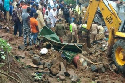 Fifteen dead as three houses collapse in Mettupalayam