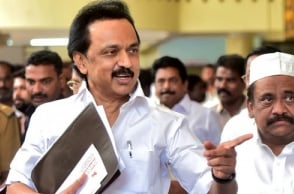 ''Governor is with AIADMK'': Stalin to move High Court