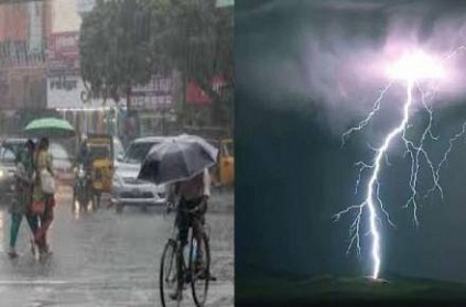 Heavy rain predicted in next 24 hours in Tamil Nadu and Pondicherry