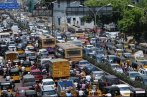 How slow was Chennai traffic in 2017? Survey reveals