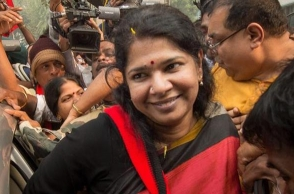Kanimozhi's speech on Tirupati god creates controversy