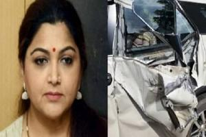 Khushbu Sundar Meets With Accident in Tamil Nadu; Shares 'Fiery' Post After Mishap