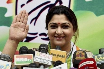 Khushbu Sundar Resigns From Congress likely to Join BJP