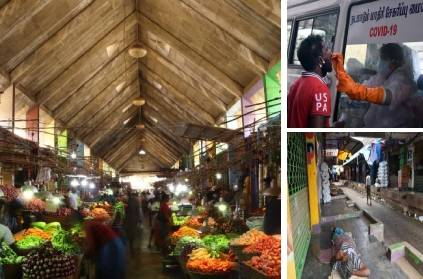Koyambedu market chennai likely to reopen in phases from September