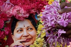 Memorial for Jaya in two places in Chennai