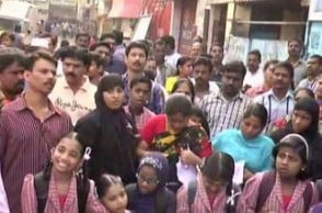 Parents protest against popular private school in Chennai