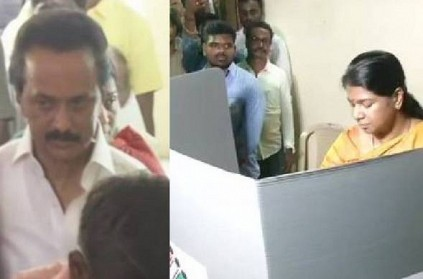 Voter turnout recorded in Tamil Nadu for 9 am and 10 am
