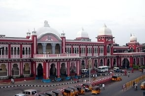 Portugal man begs in Egmore railway station