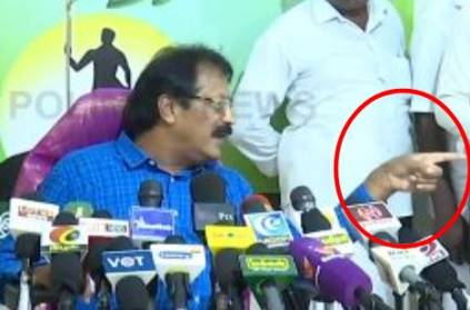 PT chief Krishnaswamy slams reporter asking caste