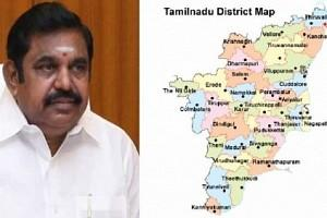 Tamil Nadu Gets Five New Districts: Boundaries Redrawn