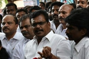 Why no action against OPS faction MLAs who voted against govt: Tamilselvan