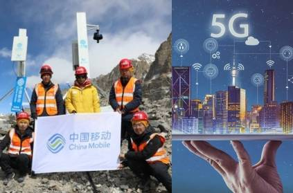 China installs 5G Tower near Indian Border: Watch Mount Everest