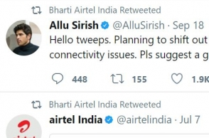 Here's how Airtel responded when this Telugu actor wanted to 'get out of Airtel'