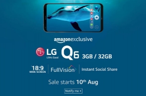 LG Q6 India launch set for Thursday