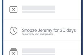 Now you can temporarily mute friends on Facebook