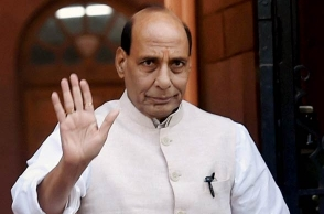 Through us out if we fail to fund farmers: Rajnath