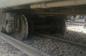 Train derails in Uttar Pradesh: No casualties