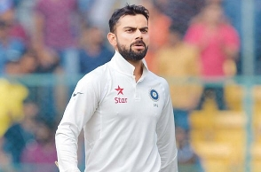 Virat Kohli doubtful for the 4th Test in Dharamsala