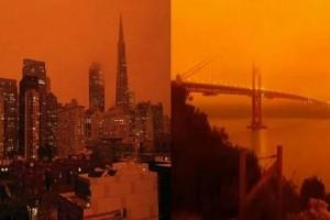 PHOTOS Viral: Residents wake Up to see the 'City of San Francisco' in 'Apocalyptic' Orange - Why?