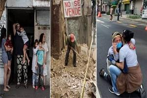 VIDEO: 7.4 Magnitude Earthquake Hit Mexico – Buildings Collapse, 5 Deaths Reported