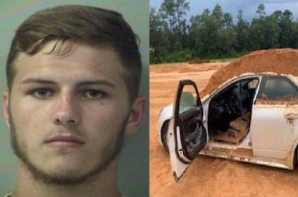 Florida Man Dumps Soil On Car With Girlfriend Inside.