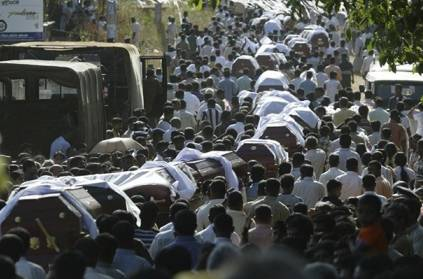 Sri Lanka reveals actual death toll of suicide bomb attacks