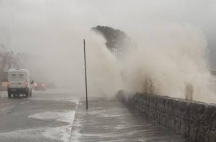 Storm brendan alarm UK people with tsunami like waves Video