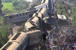 Train crash in Egypt: At least 42 killed, 133 injured