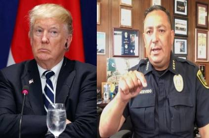 "VIDEO: ""Keep your Mouth Shut,\"" Police Chief tells Trump!"
