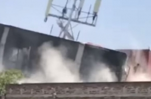 WATCH: Buildings collapse in powerful earthquake that jolted Mexico
