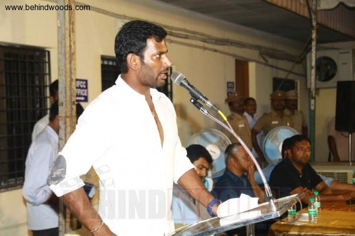 Vishal (aka) Actor Vishal