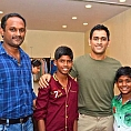''Dhoni was also charmed by the Kaaka Muttai kids''
