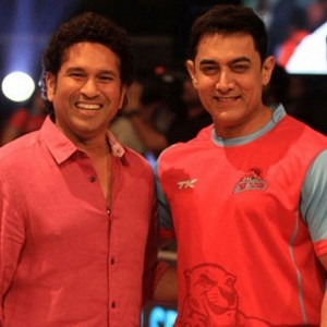 ''It was the first and last time Sachin cheered for me'' Aamir Khan recollects!