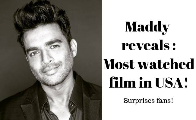 Actor Madhavan reveals on Twitter – '3 Idiots' is the most watched film in USA amid lockdown