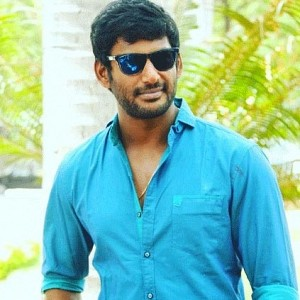Vishal's statement regarding the alleged arrest of a piracy kingpin
